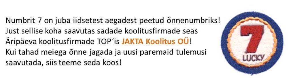 JAKTA TOP 7